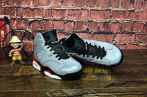 6 PSG wirklich cool 28 --- 35 Ganzkörper 3M Reflex Grand Paris gemeinsame Namen der Kinder-Basketball-Schuhe für Kinder 6 Kinder-Basketball-Schuh-Kind