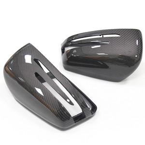 Mercedes-Benz carbon fiber ABCES class CLA CLS GLK GLA class W204 carbon fiber rearview mirror shell cover