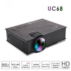 Mini-projecteur à projecteur multimédia de théâtre original UNIC UC68 AirSharing avec vidéo Full HD 1080p