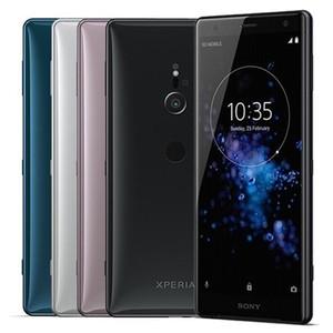 Original Recuperado Sony Xperia XZ2 H8216 H8266 H8296 5,7 polegadas Octa Núcleo 4GB 10pcs / 6GB RAM 64GB ROM 19MP NFC 4G LTE inteligente Android Phone DHL