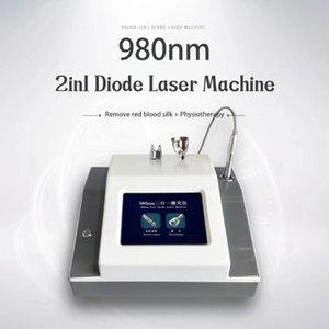 980nm Diode Laser Spider Vein Removal Vascular Removal Machine Portable mini diode laser machine for painless vascular veins removal
