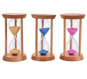 Fashion 3 Mins Wooden Frame Sandglass Sand Glass Hourglass Time Counter Count Down Home Kitchen Timer Clock Decoration Gift