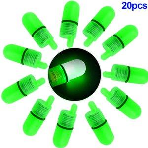 Werkzeuge fester Kunststoff LED-Licht Luminous Clip Tipp Angel Bell Alarmglocke Beißt Ring Fischköder Outdoor-Nachtangeln