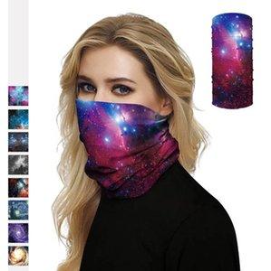 Máscara da face do céu estrelado Cachecol leve e máscara anti-pó respirável Com Alta Elasticidade unissexo Máscara multifuncional exterior