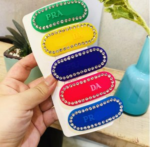 Women Letter Hair Clip Rhinestone Letter Barrettes for Gift Party Fashion Hair Accessories for Gift Party