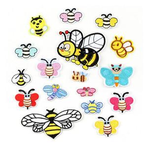 Bello dell'ape ricamo patch per bambini Jeans ferro sulle strisce svegli dei bambini Appliques vestiti abbigliamento adesivi Badges