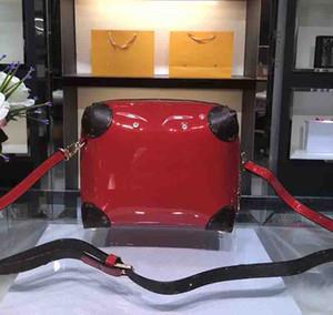 Designer-HOT SPRINGS femmes mini sac à dos Vernis sacs à dos en cuir verni luxe designer sac à dos sac de mode marque rose sac à dos M53545