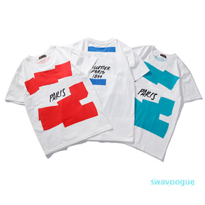 Women Mens Shirt Summer Crew Neck Tops Casual Style T Shirts for Men Women Short Sleeve Shirt Clothing Letter Pattern Printed Tees Rh9