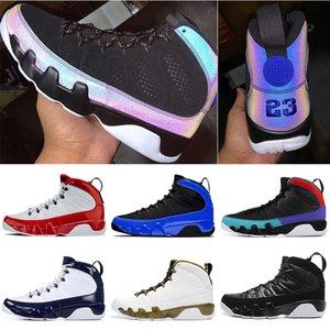 Nike air jordan retro 9 9s stockx Gym Red Men Basketball Shoes Racer Azul Citrus UNC estátua mens formadores tênis esportivos tamanho 7-13