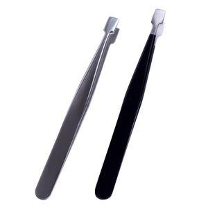 Anti-static False eyelash Tweezers multi-function false Eyelash assistant Thickened & Hardened Stainless steel eye lash Curler Makeup tools
