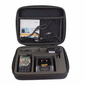 UV5R чехол сумка сумка портативный сумка Подходит для Baofeng UV-5RA UV-5RE DM-5R плюс Высокое качество Walkie Talkie аксессуары