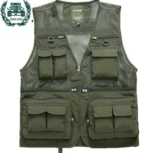 ZHAN DI JI PU Marke Tactical Vest Männer 2019 neue Ankunfts-Multi-Taschen Fotografie Schwenker Vest 59