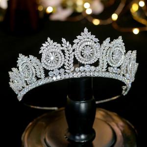 Novos Acessórios Europeus de Cabelo Do Casamento Noiva Coroa Vestido de Noiva Acessórios ZY