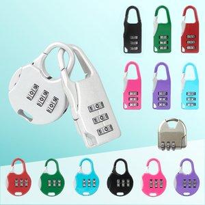Caja de seguridad Mini-Lock de aleación de zinc de equipaje Combinación de contraseña Mochila Candado papel pluma Mini Lock XD23560