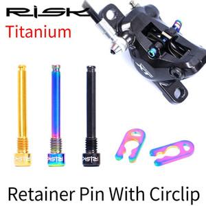 2ST RISIKO Titan M4x26mm Caliper Schrauben Ultra Fahrrad Ölscheibenbremsbeläge Gewindestifte für XT Hydraulic