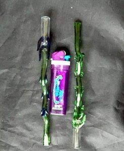 New Straw BCBP Les bangs en gros brûleurs à mazout Tuyaux Tuyaux d'eau en verre Oil Pipe Rigs Fumer, Livraison gratuite