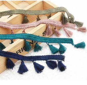 style ethnique couleur Fringe dentelle Ruban Webbing Tassel Vêtements de bricolage Rideau Décor Home Textile Artisanat Accessoires