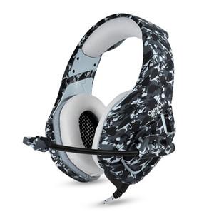 K1 PS4 casque de jeu casque filaire casque stéréo PC avec casque micro pour le nouveau lecteur de tablette Xbox One / ordinateur portable