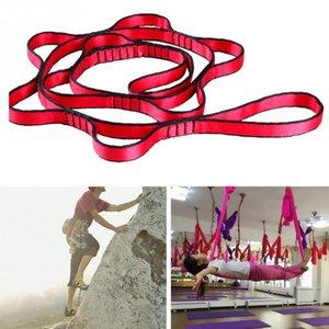 Подвесной канат веревка хризантема Йога Stretch ремень Extender ремень для Aerial Yoga Гамак Свинг Антигравитация