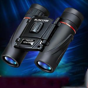 10x22 Compact Zoom Jumelles longue portée 1000m Grand Télescope HD professionnel optique scope pour l'observation des oiseaux