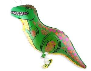 Birthday Party Adornment mongolfière Pédestre Pet Dinosaur Ballons en feuille d'aluminium Boule Enfants Enfant Cadeaux 1 3ht gg