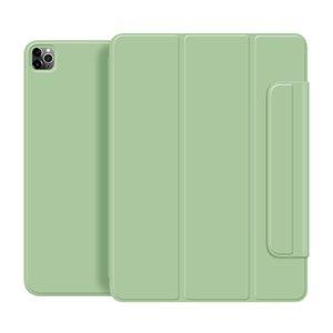 Pour iPad pro 11 12.9 couverture étui de protection version 2020 double face pince magnétique ultra-mince avec fonction support