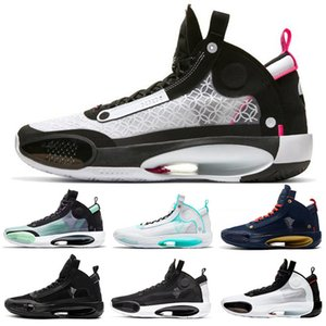 Nike air jordan 34 AJ34 Jumpman sport shoes XXXIV 34 Low GUO Ailun PE Shoes Hot 34s Low colorful colordesigner Wholesale Price Size 40-46