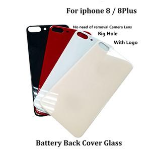 agujero de la cámara de ancho más grande Volver cubierta de la batería de cristal de reemplazo para el iPhone 11 Repair Pro Max / 11 / 11Pro Puerta trasera de Vivienda