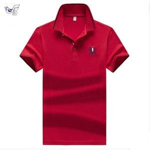Short Sleeve men Clothes Golf Tennis shirts Plus size M-4XL Men`s Shirts streetwear 95% Cotton soild color