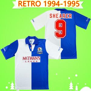 Finali 1994 1995 Blackburn Rovers retrò calcio maglie 94 95 epoca maglia da calcio classico HENDRY SHERWOOD SHEARER NEWELL WILCOX SUTTON