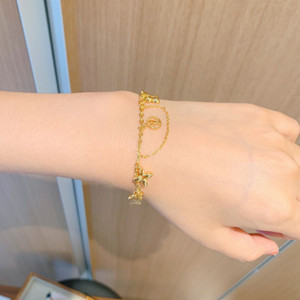 bracelet The latest design of adjustable size chain link bracelet is the top titanium steel women bracelet 17cm