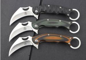 Ninja Tanrı pençe bıçak 8Cr13Mov G10 karambit pençe Açık Av Bıçağı Kamp Survival noel hediyesi Bıçaklar AdCO