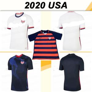 2020 PULISIC bradley KRIEGER Futbol Formalar ABD DEMPSEY Altidore AHŞAP RAPINOE Deplasman Futbol Gömlek Birleşik Devletleri LLOYD MORGAN Üniformalar