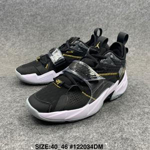Los hombres zapatos de baloncesto del Mens transpirable DesignerShoes ¿Por qué no 0.3 alta calidad se divierte la zapatilla de deporte Entrenamiento brandshoes Tamaño 40-46 A01 20022103W