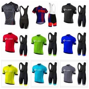 CUBE özel şort takımları Nefes Yarışı Bisiklet Bisiklet Giyim S58005 önlük Bisiklet Kolsuz forması Vest yapılan