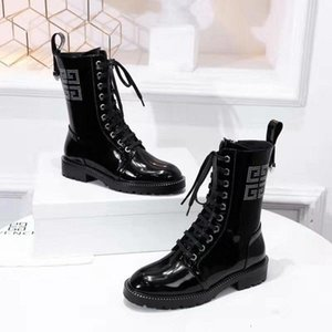 2019 Top Quality Women Shoes Free Shipping Leather Ankle Boots Winter Black Fashion Lady Classic Boots 110203
