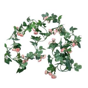 36 çiçekler 50 adet Simüle Gül Rattan Dekorasyon Çiçek Ipek Çiçek Düğün Çiçek Asılı Rattan Tavan Sarma Peyzaj Rattan