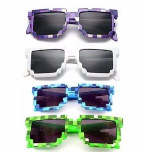 5 Renk Moda Güneş Çocuk Cosplay Aksiyon Oyunu Oyuncak Erkekler Kızlar Kare Güneş Gözlükleri Çocuk Doğum Hediye
