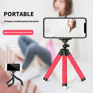Universal Mobile Phone Holder Flexible Octopus Tripod Bracket for Mobile Phone Camera Selfie Stand Monopod Support Photo Remote Control