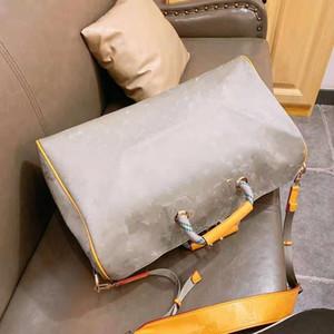 New Laser Hand Luggage Travel Bag Waterproof Duffel Duffle Men Handbag Tote Boys European and American Style Unisex Women Luxury Handbag