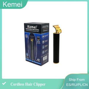 New Kemei 1971 Pro Li T-Outliner Skeleton Heavy Hitter Cordless Trimmer Men 0mm cilppes Baldheaded Hair Clipper Finish Hair Cutting Machine