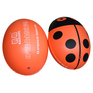 Thickened double balloon buoys Assault ball swimming bag Floating drifting drift adult children learning equipment factory wholesale