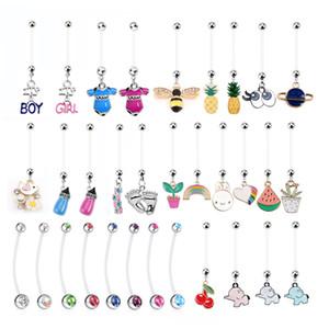 12PCS Piercing au nombril Mix Bébé Piercing Nombril Or Enceinte Piercing Nombril Piercing Nombril Anneaux Nombril Boucle D'oreille Sexy Corps Bijoux