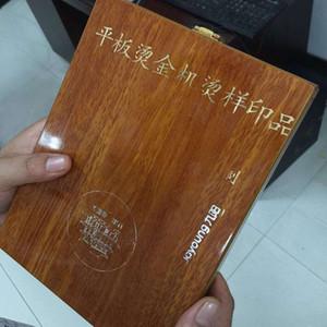 Cina supplers qualità prodotti manuale hot foil stamping per marchio di scarpe t-shirt in pelle