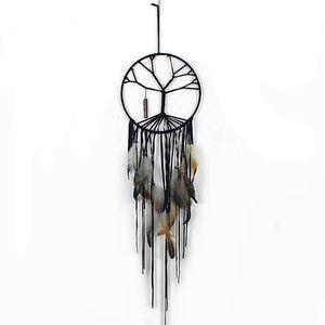 The Tree of Life Dream Catcher pour les enfants Chambre Belle plume Hanging Grand Attrapeur de rêve