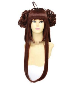 FREE SHIPPING + Battleship Fleet Collection Diamond Girl cosplay wig brown wig styling