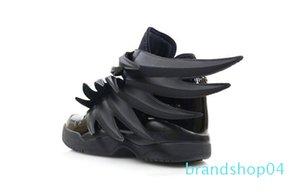 2019 роскошный дизайнер Jeremy x Original Wings 3.0 тройные черные кроссовки женская мужская мода Повседневная обувь винтажная личность обувь для мальчиков и девочек 1