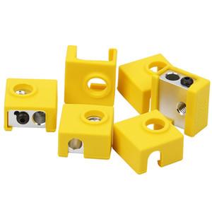 2 개 실리콘 양말 커버 MK9 / MK10 3D 프린터 알루미늄 히터 블록 3D 프린터 교체 부품 액세서리