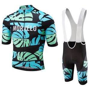 Nuovo arrivo MORVELO ciclismo pullover in gel pad bike shorts Ropa ciclismo quickdry estate Traspirante mtb abbigliamento in bicicletta mens Maillot Culotte Y0530