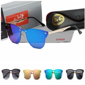 RAY BAN gros nouvelles lunettes de soleil marque de mode style vintage cadre métallique cadre d'or en plein air chaud conception lunettes style pilote classique